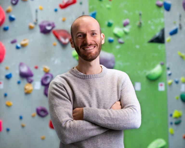 Tim Kukla - der Leiter des Kletterzentrums im Interview